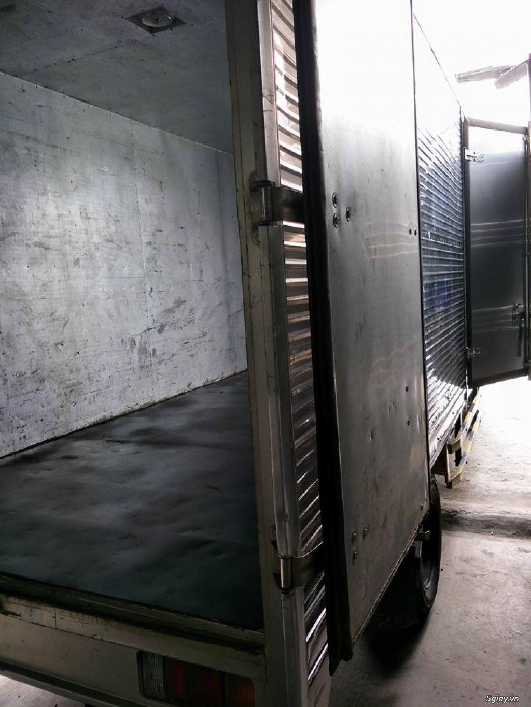xe tải isuzu NMR 1t9 thùng kín inox đời 2015 - 3