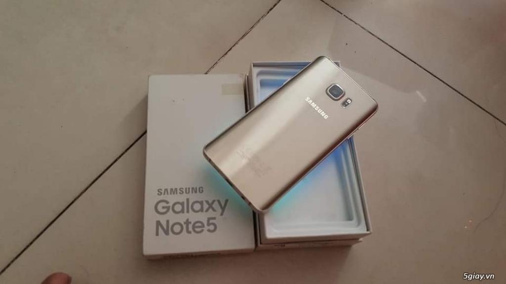 Note 5 gold hàng công ty SSVN full box nha bà con - 5
