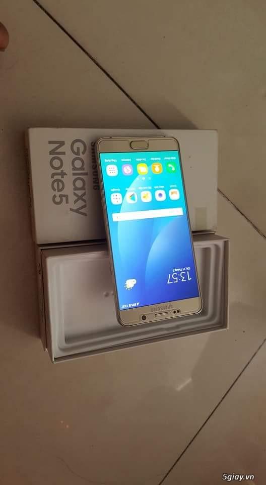 Note 5 gold hàng công ty SSVN full box nha bà con - 4