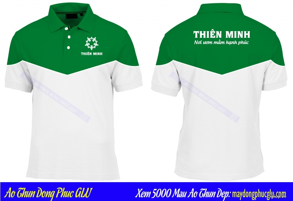 May áo thun đồng phục cao ty chất lượng, giá rẻ nhất TPHCM - 38