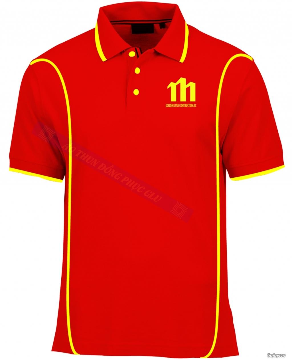 May áo thun đồng phục cao ty chất lượng, giá rẻ nhất TPHCM - 25