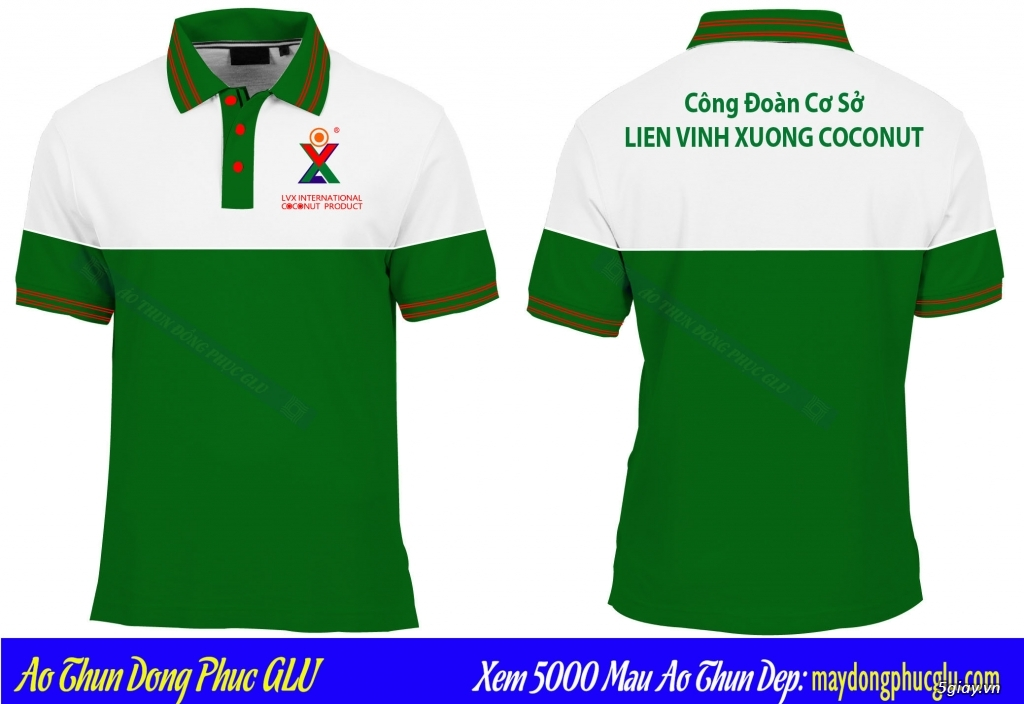 May áo thun đồng phục cao ty chất lượng, giá rẻ nhất TPHCM - 33