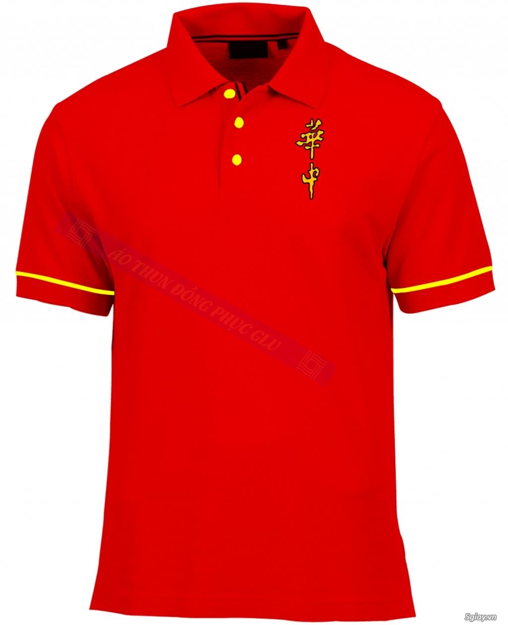 May áo thun đồng phục cao ty chất lượng, giá rẻ nhất TPHCM - 27