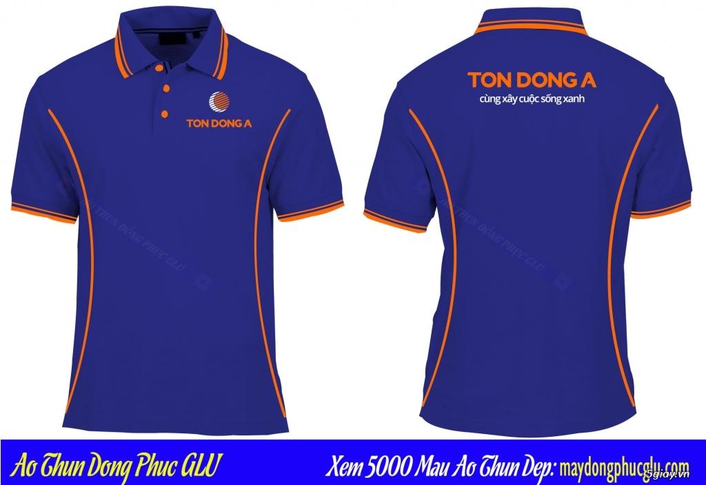 May áo thun đồng phục cao ty chất lượng, giá rẻ nhất TPHCM - 37