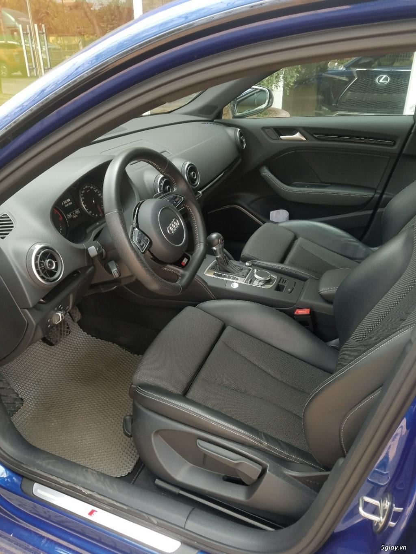 Xe Audi A3 Hatchback màu xanh, hàng nhập Đức - 4