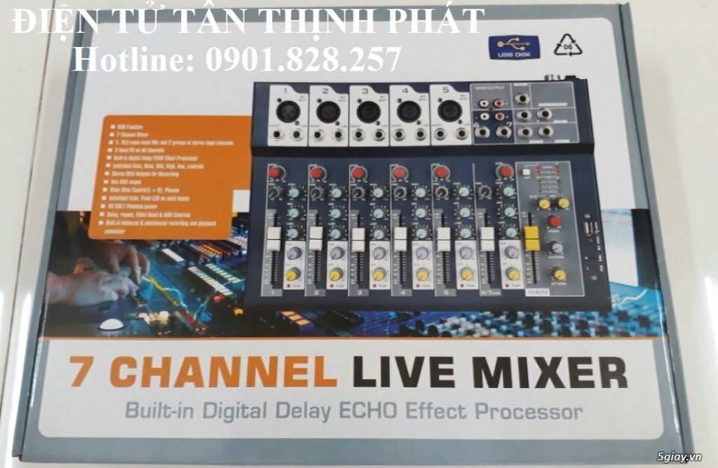 mixer peavey f7 giá rẻ - 2