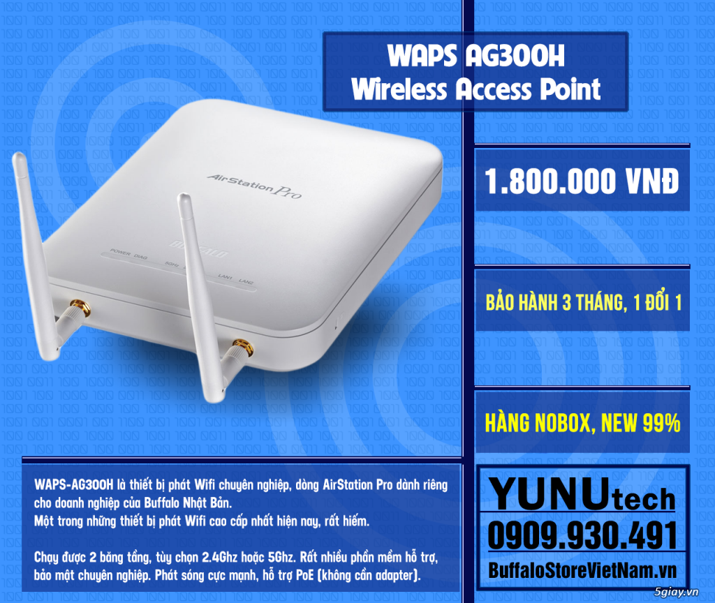 [YUNUtech] ROUTER WIFI BUFFALO - 1
