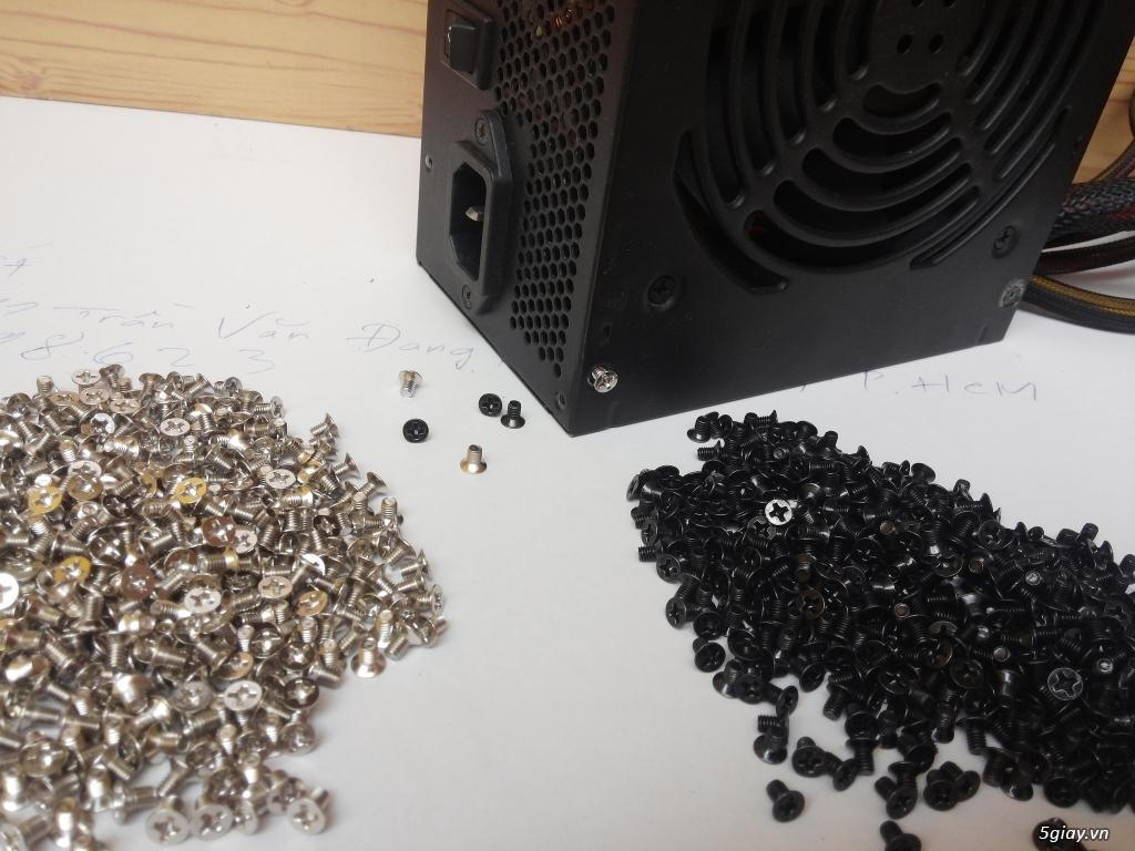 Hub Fan PWM, Backplate AMD 115x,775,1366clip 2011 gông, Ốc Đồ Mod Case - 13