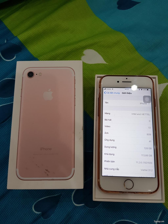 Iphone 7 128GB máy xài kỹ tình trạng 98% - 2