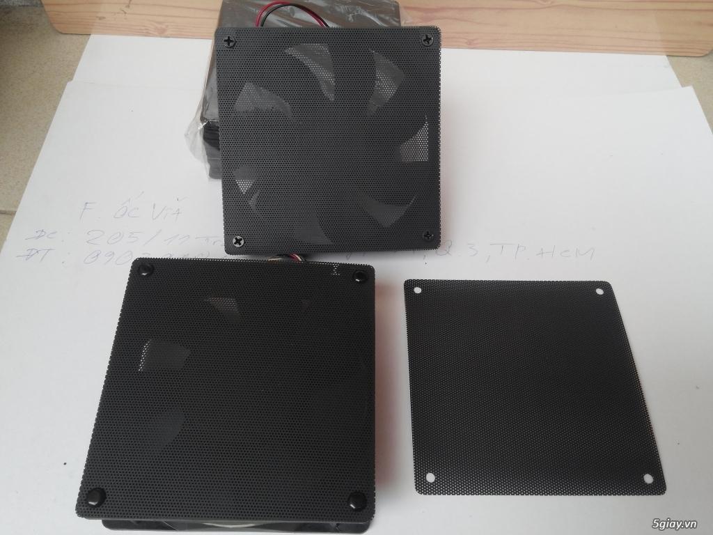 Hub Fan PWM, Backplate AMD 115x,775,1366clip 2011 gông, Ốc Đồ Mod Case - 46