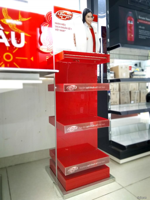 Sản xuất quầy kệ quảng cáo siêu thị, quầy kệ trưng bày hàng hóa - 2