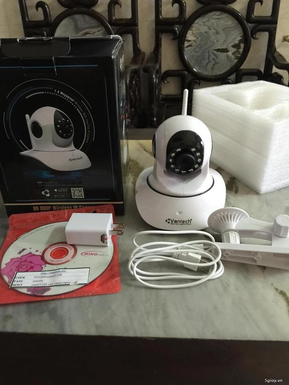 Camera IP wifi Vantech VT-6300 xoay 355 độ ( BH 2 năm )