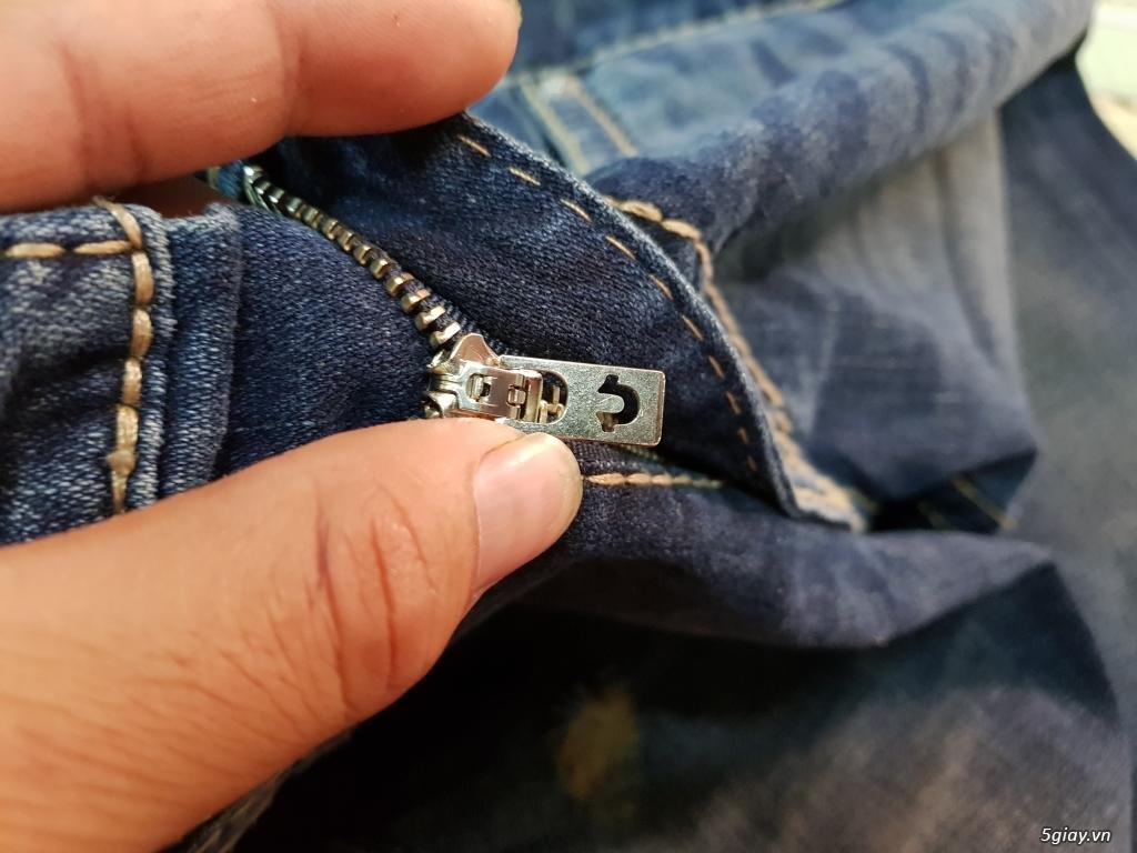 Quần jeans True religion(ông địa) chính hãng. - 7