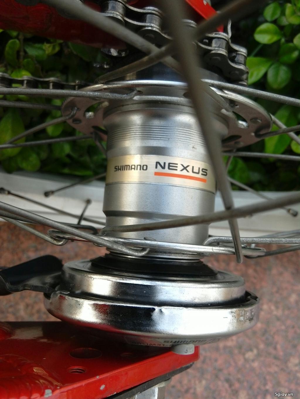 Xe đạp xếp Đỏ - Hàng bãi Nhật - 10