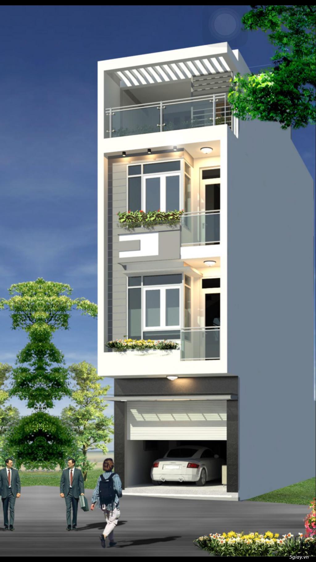 Thi công xây dựng nhà phố, biệt thự, khách sạn, nhà xưởng... - 4