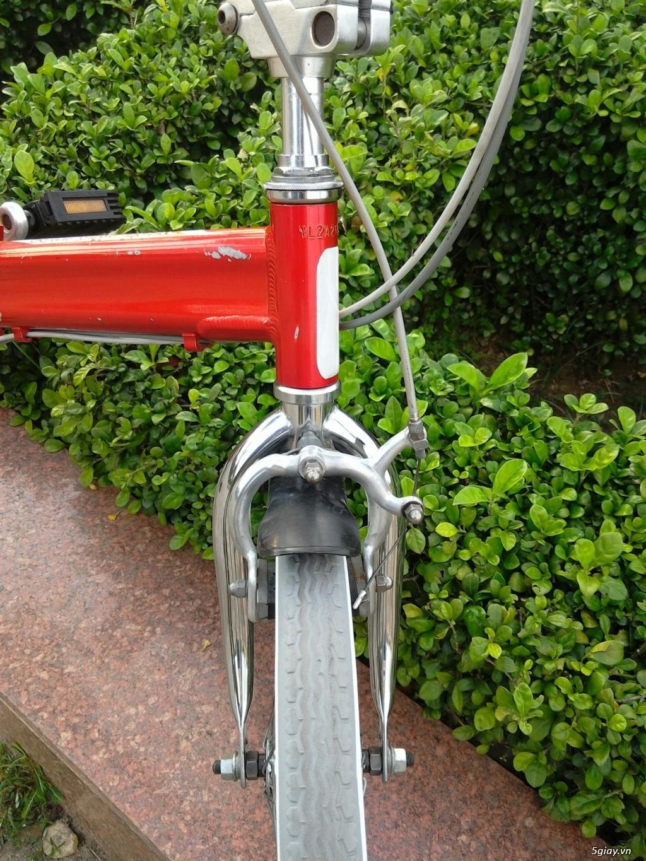 Xe đạp xếp Đỏ - Hàng bãi Nhật - 8