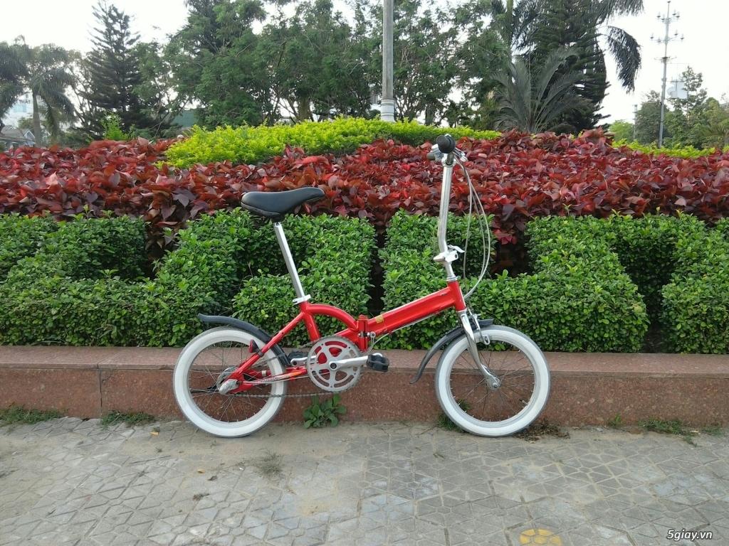 Xe đạp xếp Đỏ - Hàng bãi Nhật