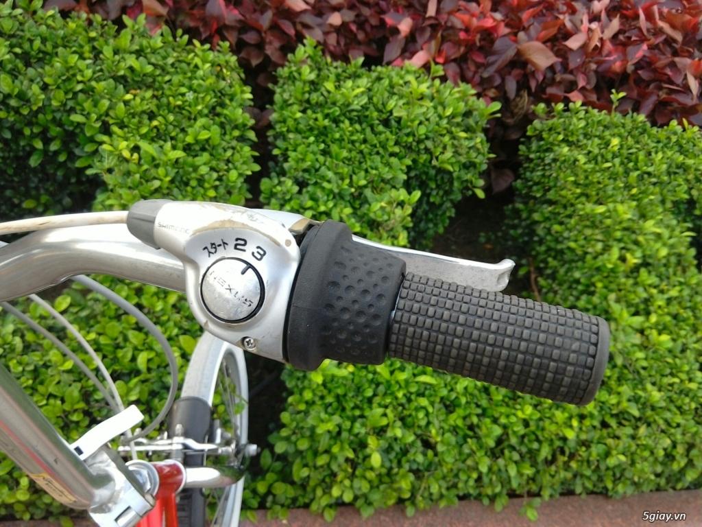 Xe đạp xếp Đỏ - Hàng bãi Nhật - 12