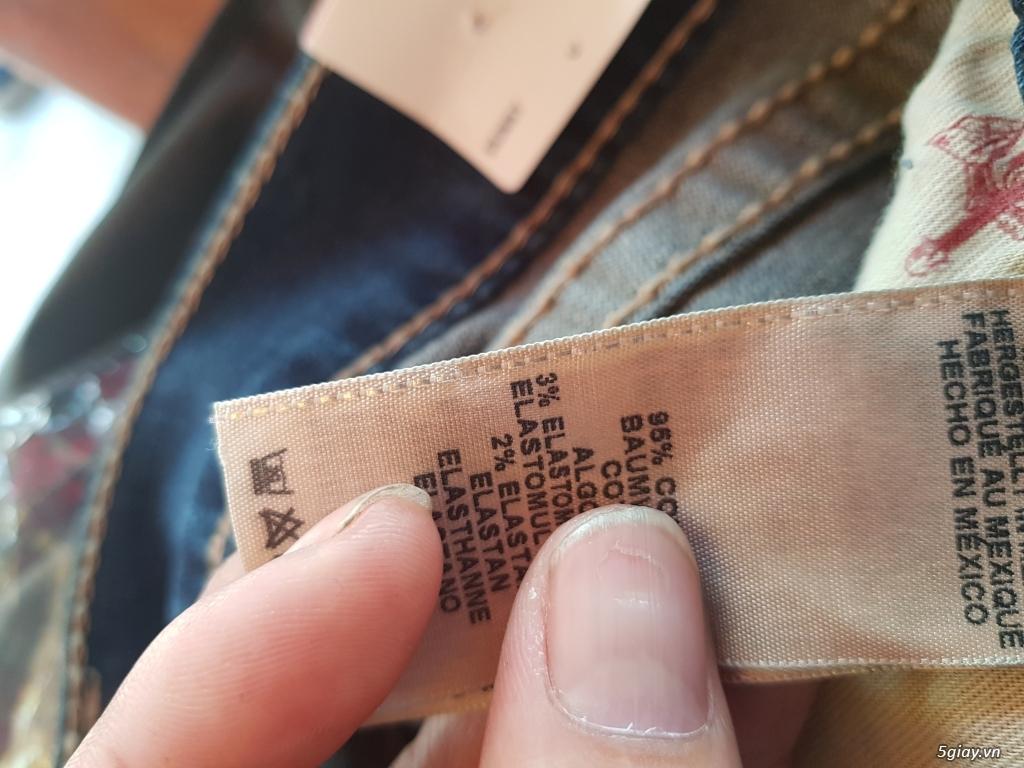 Quần jeans True religion(ông địa) chính hãng. - 6