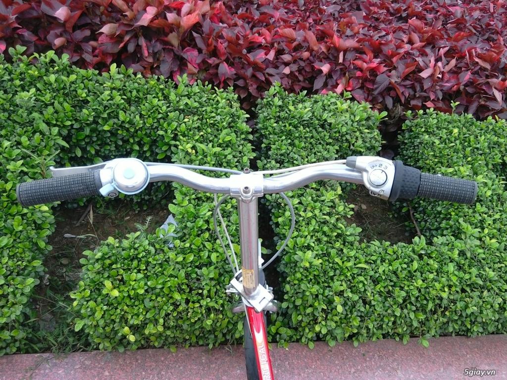 Xe đạp xếp Đỏ - Hàng bãi Nhật - 11