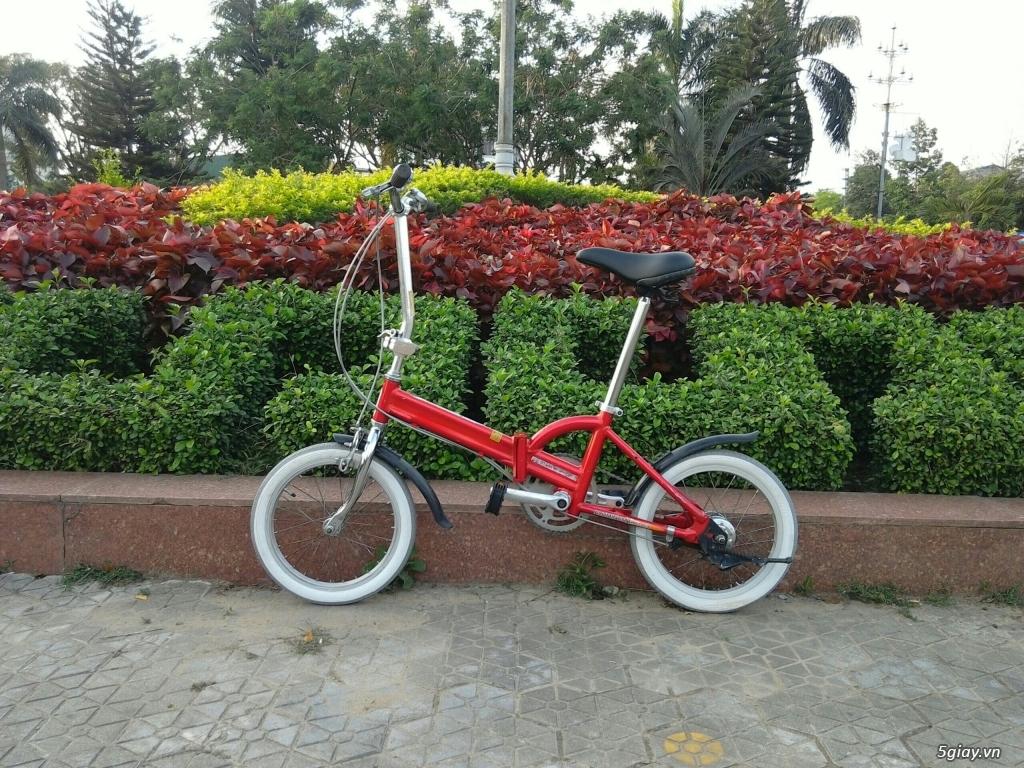 Xe đạp xếp Đỏ - Hàng bãi Nhật - 1