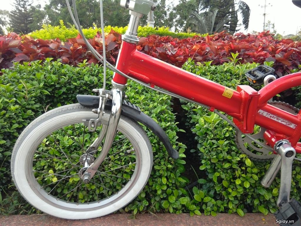 Xe đạp xếp Đỏ - Hàng bãi Nhật - 3