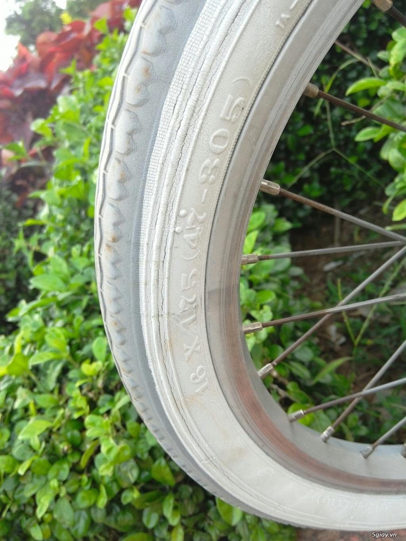 Xe đạp xếp Đỏ - Hàng bãi Nhật - 15
