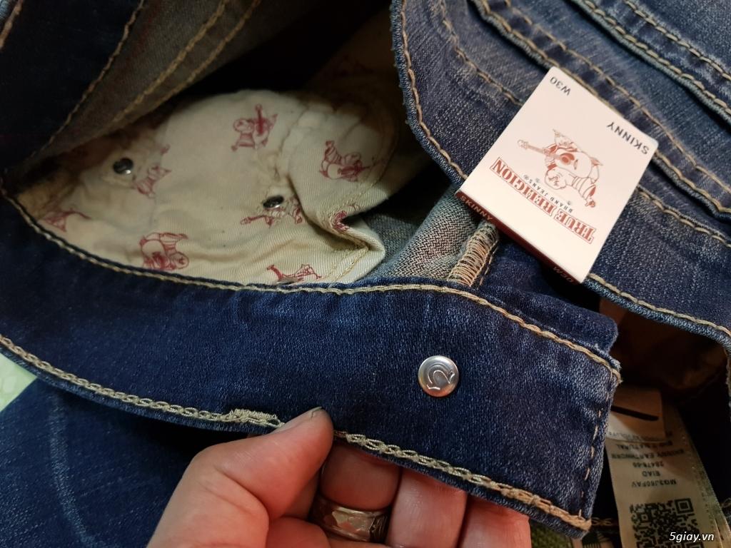 Quần jeans True religion(ông địa) chính hãng. - 4