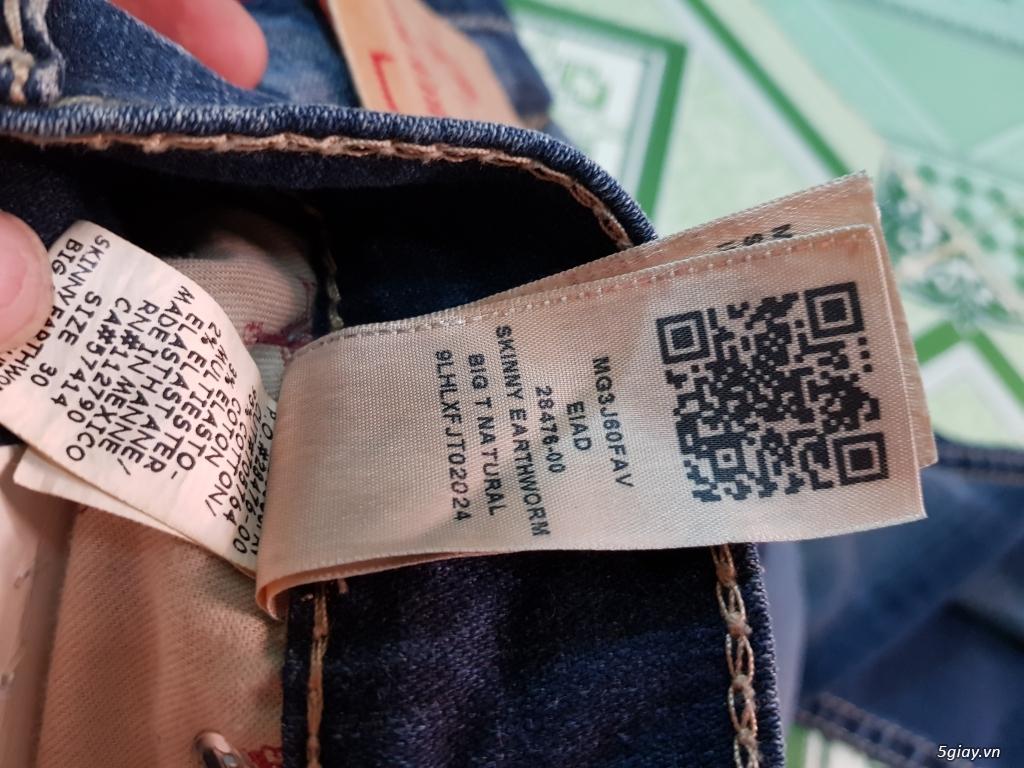 Quần jeans True religion(ông địa) chính hãng. - 5