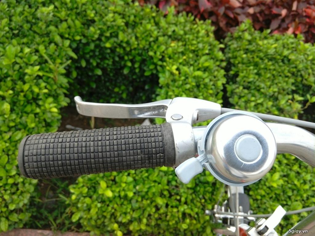 Xe đạp xếp Đỏ - Hàng bãi Nhật - 9