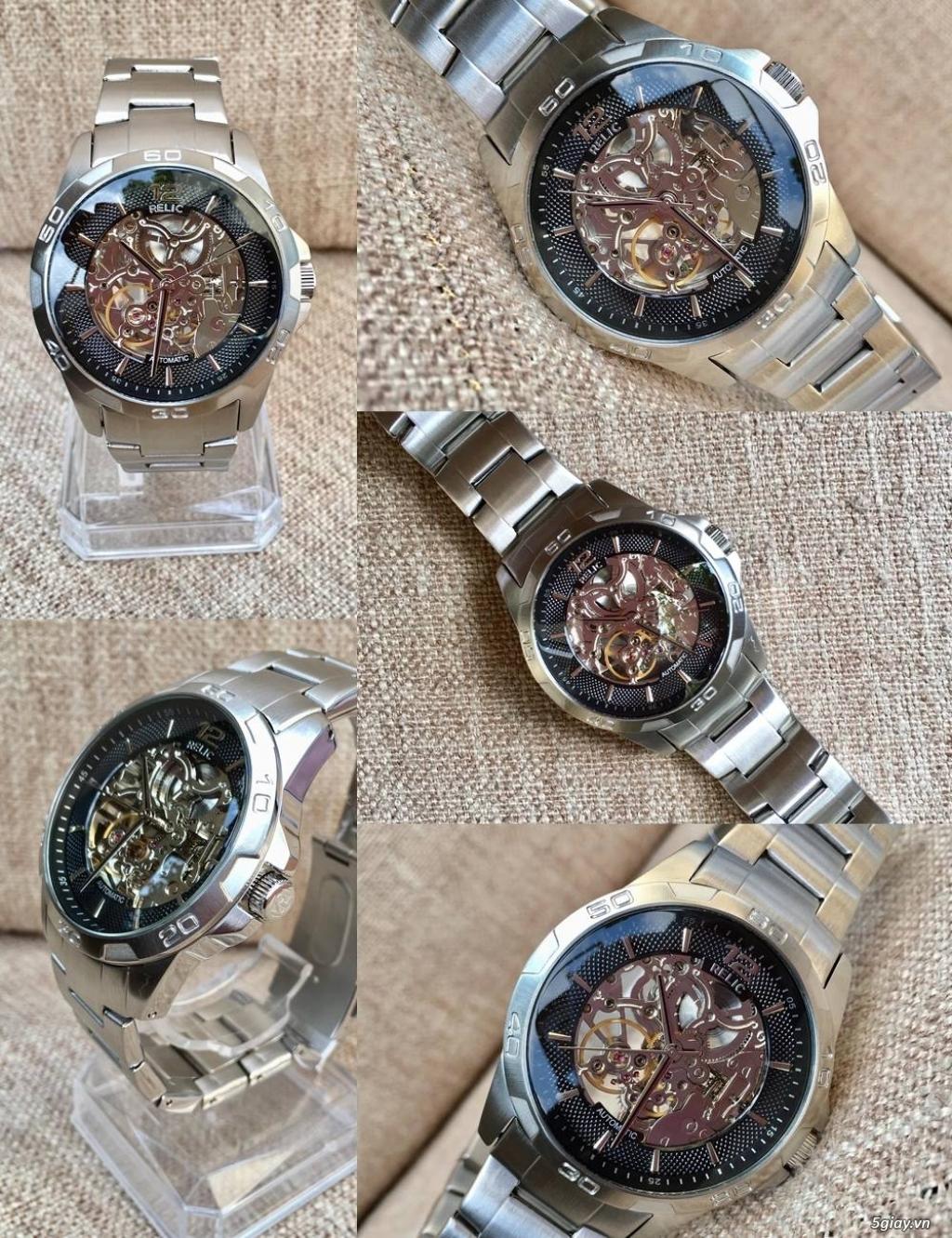 Kho đồng hồ xách tay chính hãng secondhand update liên tục - 34