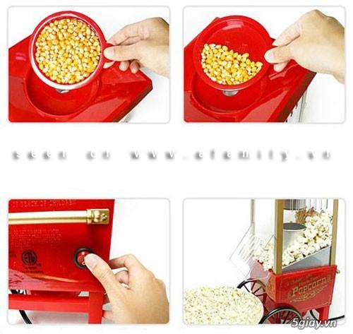 Máy làm bắp rang bơ mini nhỏ gọn   Máy làm bắp rang bơ mini nhỏ gọn - 2