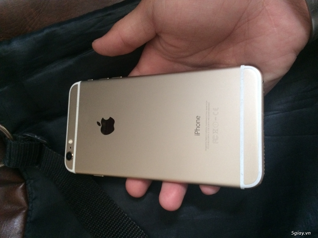 iPhone 6 Plus 128GB vàng - 4
