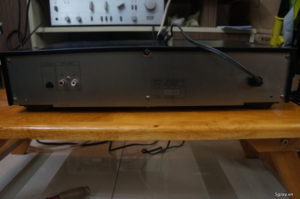 Đầu CD SONY CDP-750 Hàng Nhật điện 100v - 3