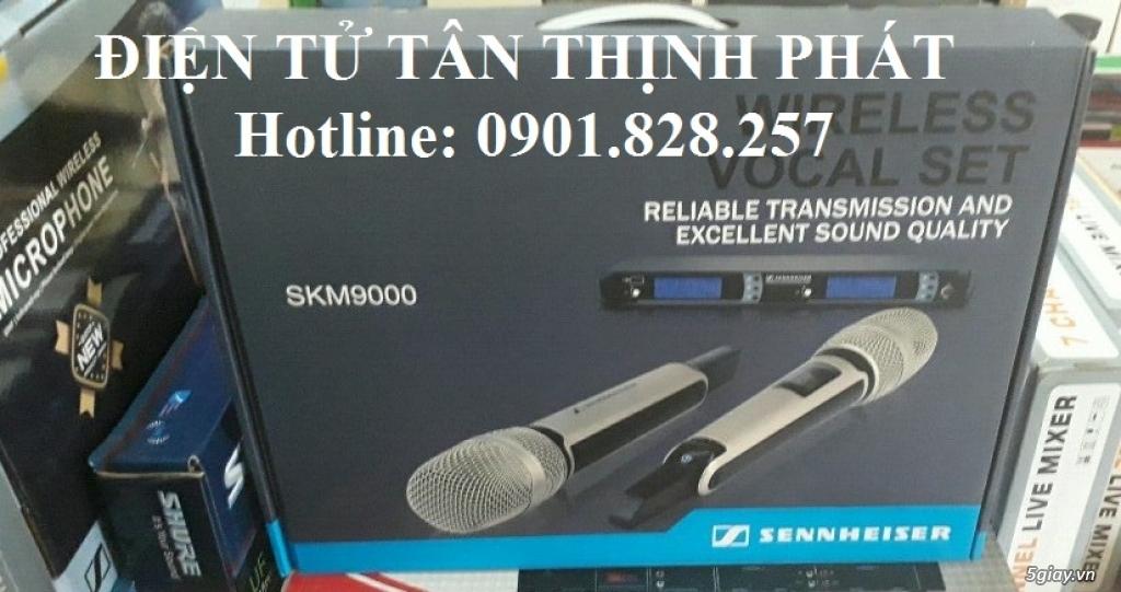 micro karaoke không dây sennheiser skm 9000