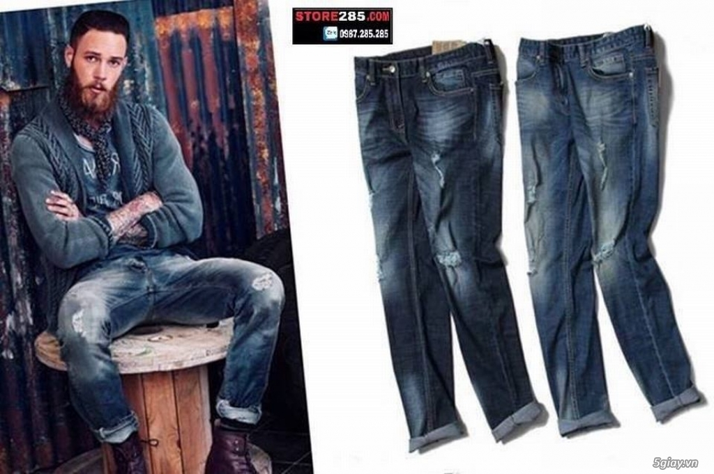 STORE285 - Thời trang VNXK: Áo thun, áo sơ mi,... đơn giản phù hợp mọi đối tượng giá chỉ 150k - 280k - 24