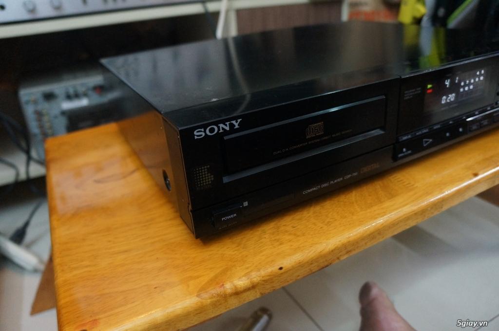 Đầu CD SONY CDP-750 Hàng Nhật điện 100v - 1