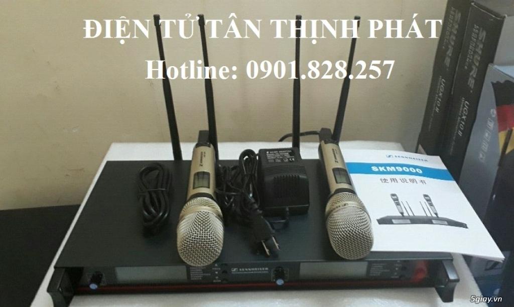 micro karaoke không dây sennheiser skm 9000 - 1