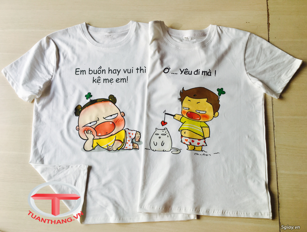 Website: tuanthang.vn áo thun in sticker Quỳnh Aka - 14 ...