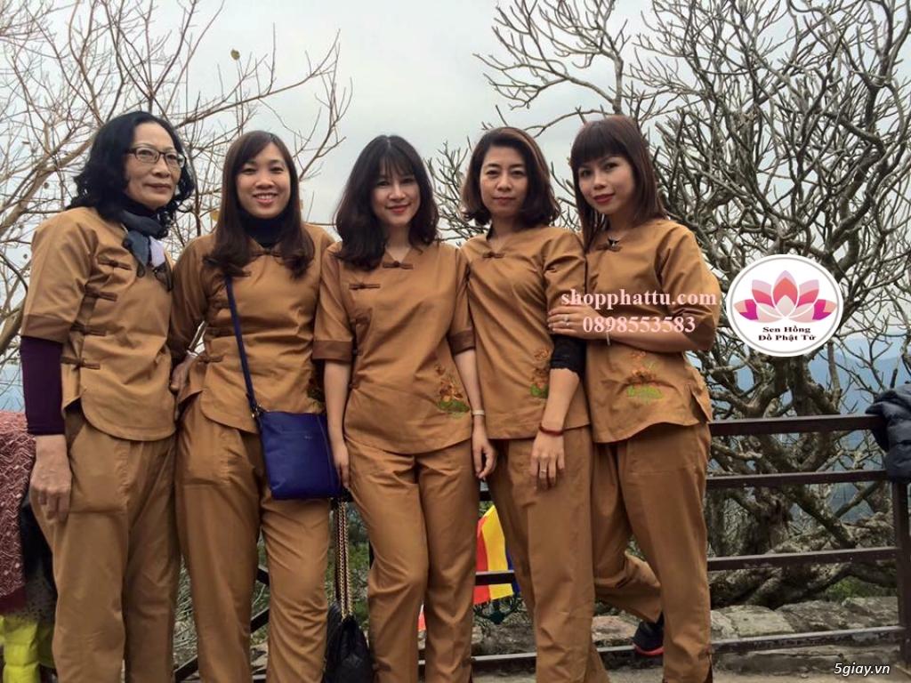 Quần áo phật tử - Áo Lam đi Chùa - 14