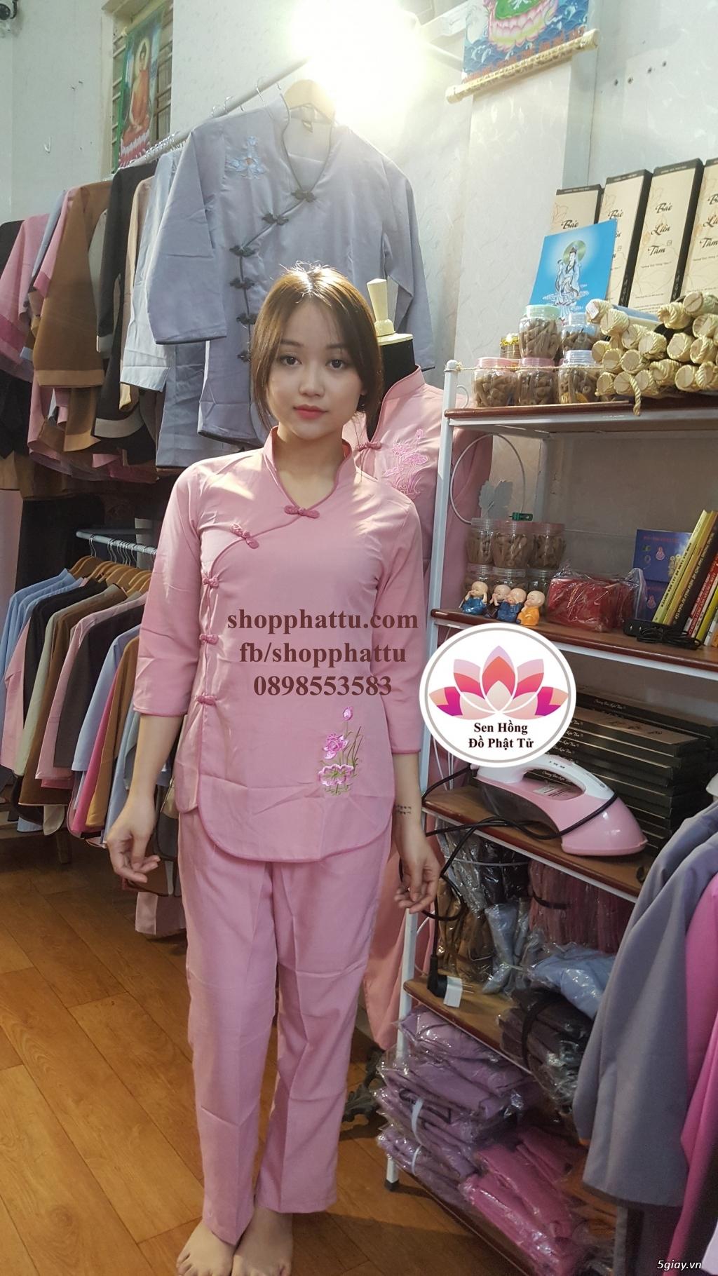 Quần áo phật tử - Áo Lam đi Chùa - 9