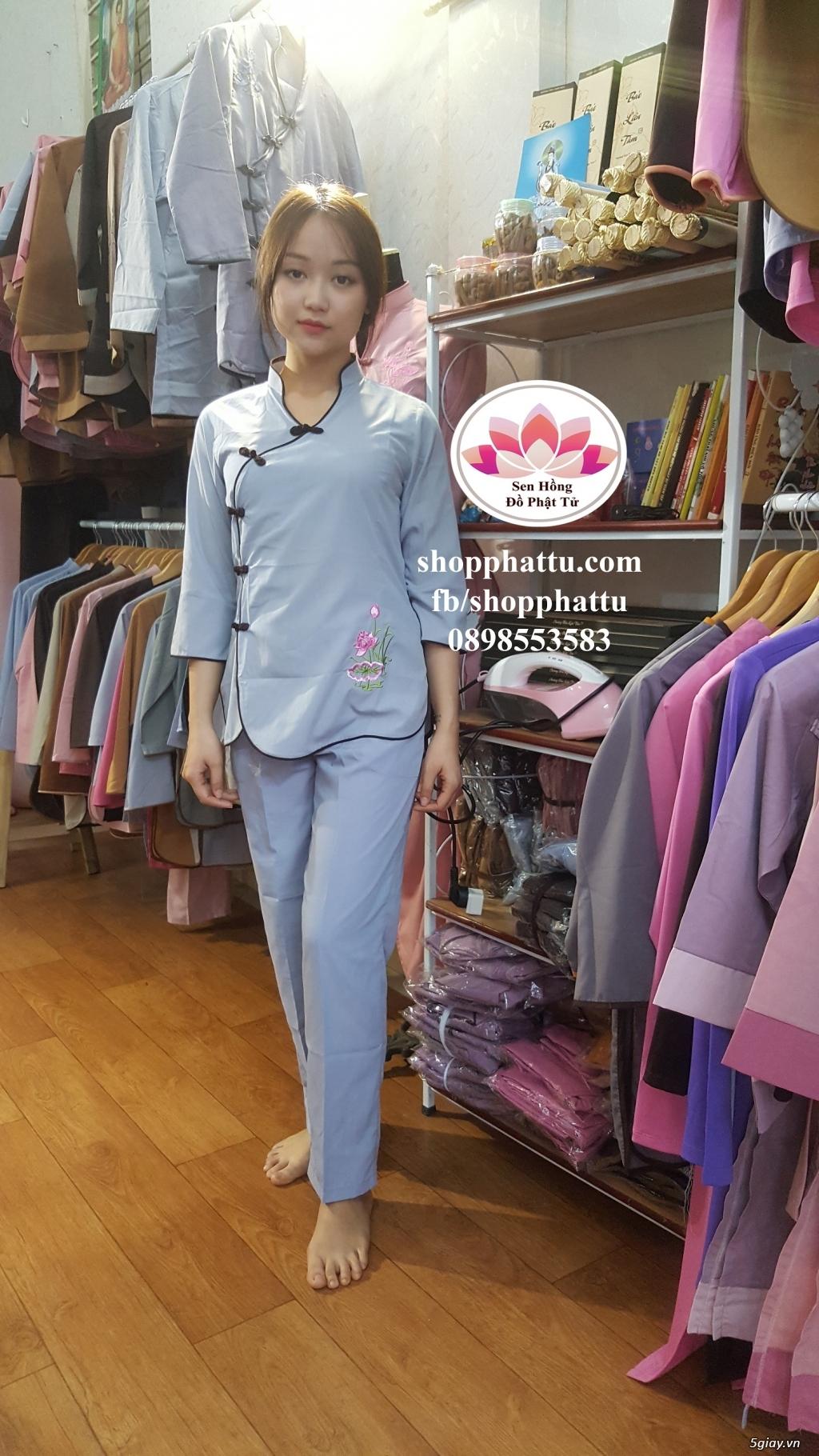 Quần áo phật tử - Áo Lam đi Chùa - 22