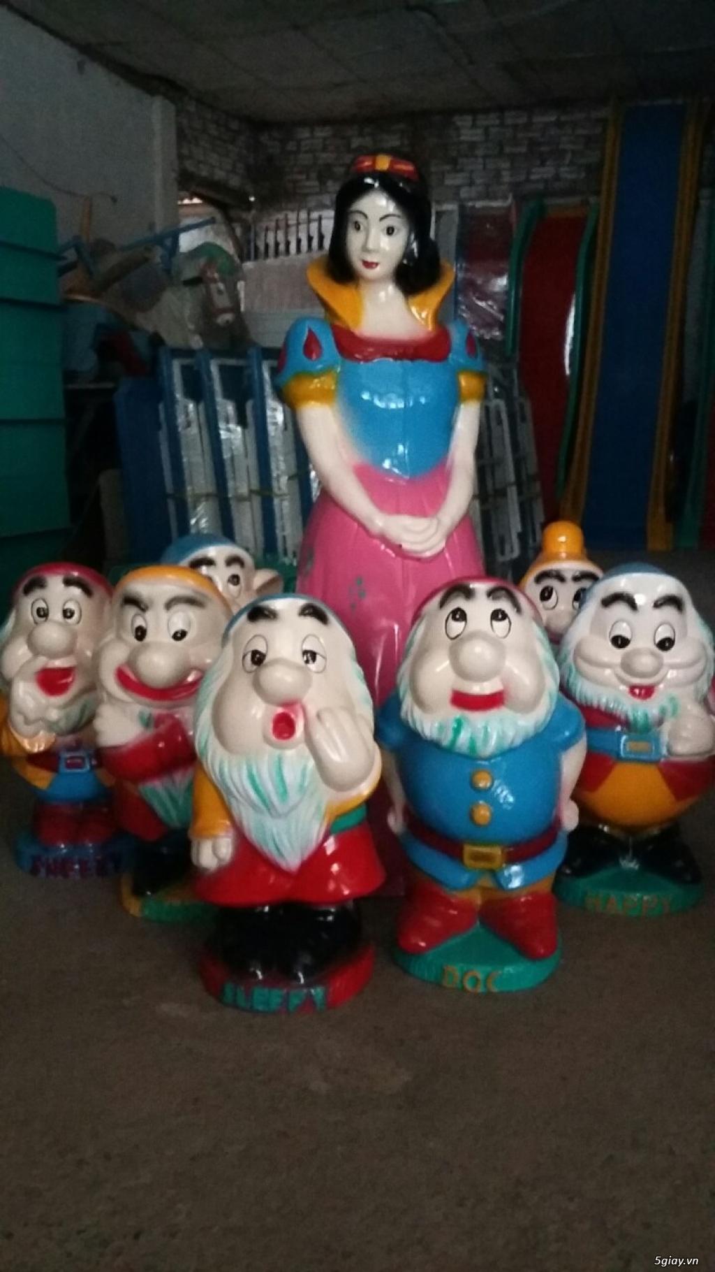 Sản xuất đồ chơi trẻ em : Nhà banh, thú nhún, xích đu, cầu trược.. - 2