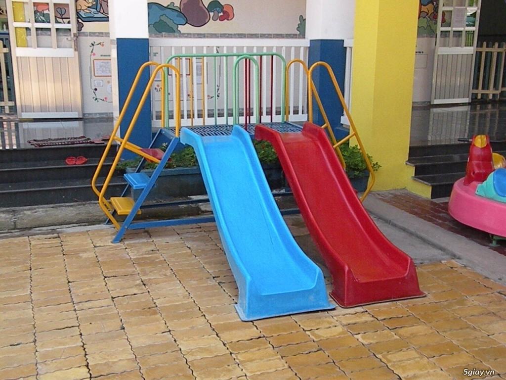 Sản xuất đồ chơi trẻ em : Nhà banh, thú nhún, xích đu, cầu trược.. - 1