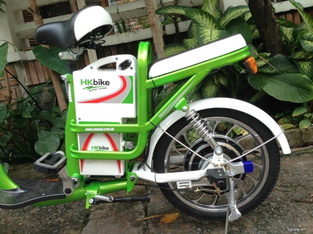 Xe đạp điện HKBIke..mới  99% còn bảo hành hơn 10tháng - 4