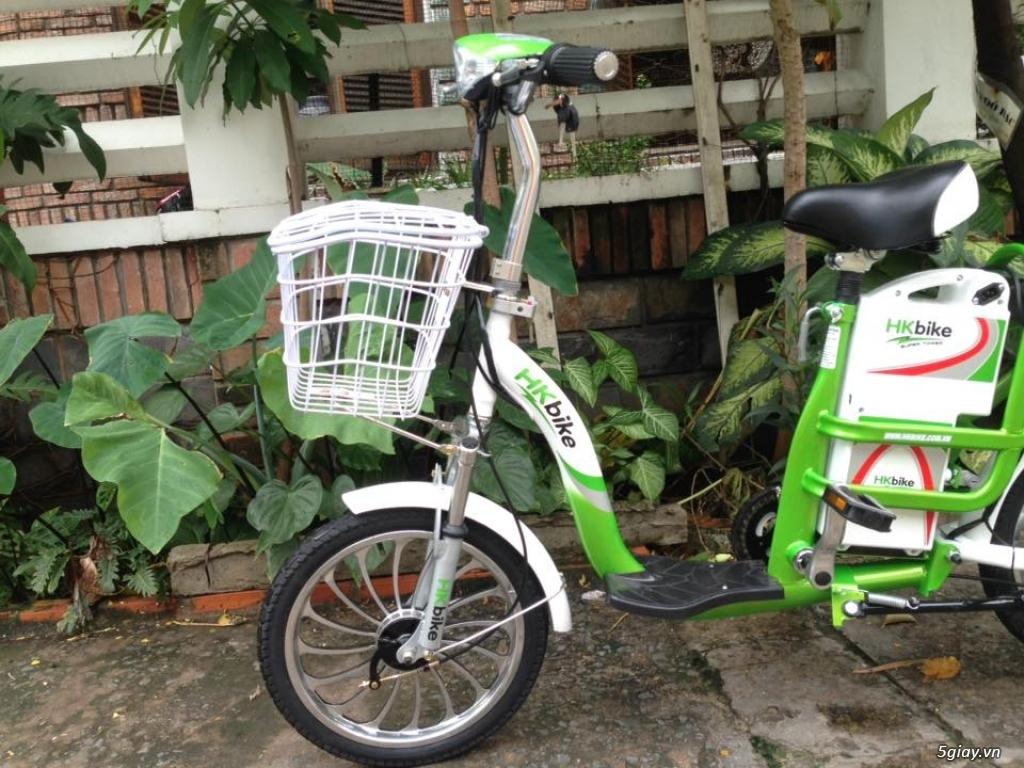 Xe đạp điện HKBIke..mới  99% còn bảo hành hơn 10tháng - 1