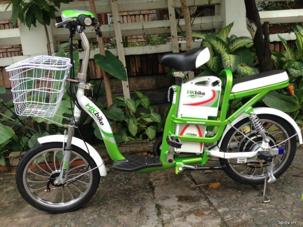 Xe đạp điện HKBIke..mới  99% còn bảo hành hơn 10tháng - 2