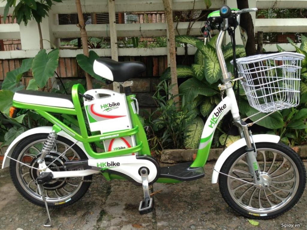Xe đạp điện HKBIke..mới  99% còn bảo hành hơn 10tháng - 3