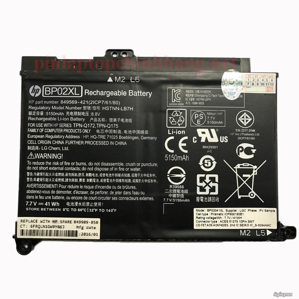 Battery (Pin) Laptop Chính Hãng Pavilion 15-AU095TX, 15-AW00AT