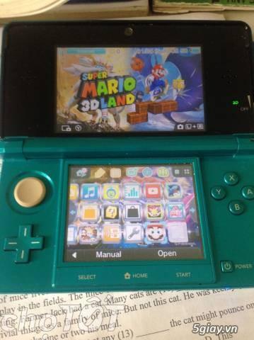 ... Cần bán máy chơi game nintendo 3ds màu aqua blue - 1 ...